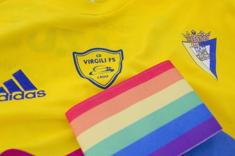 El Cádiz CF Virgili lucirá brazaletes arcoiris contra la homofobia toda la  temporada f32572b47cfc7